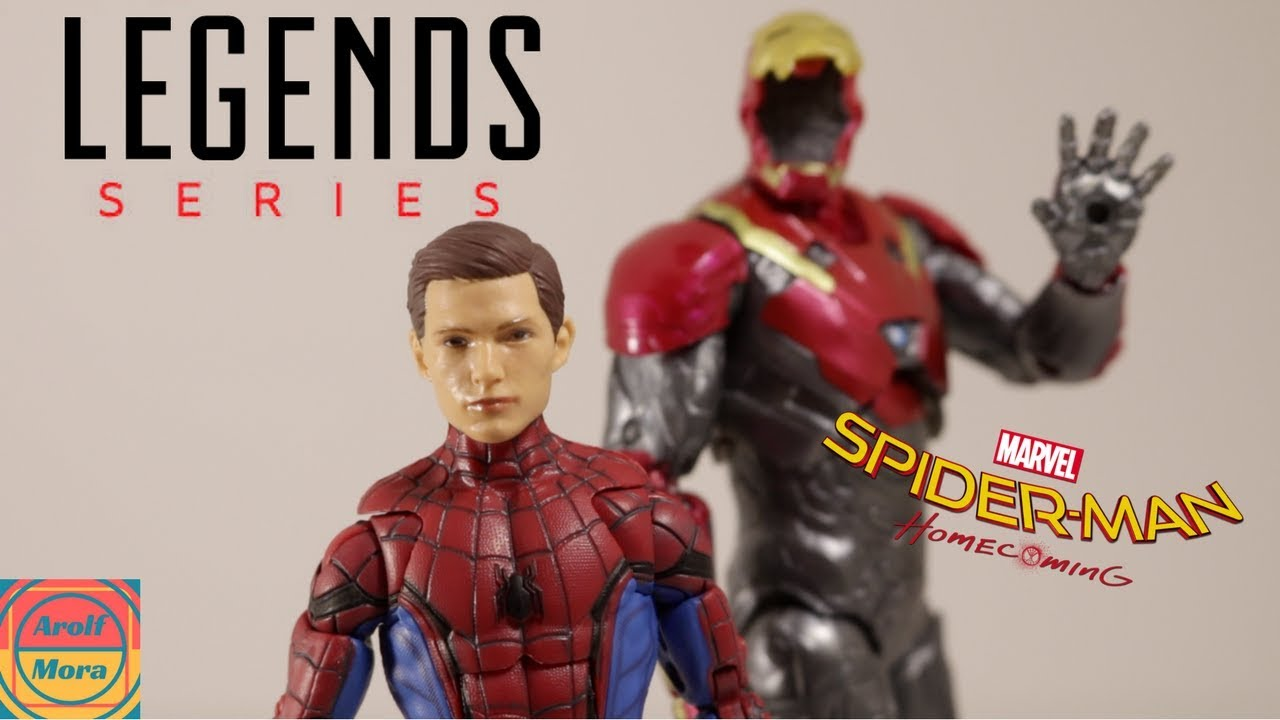 "Marvel Legends Spider-man Home coming 2 pack Ironman 6/"" figure TRU exclusive"