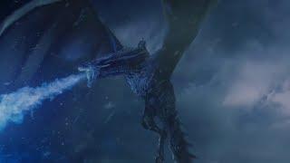 Король Ночи разрушает Стену Ночного Дозора | Игра Престолов (7 сезон, 7 серия)
