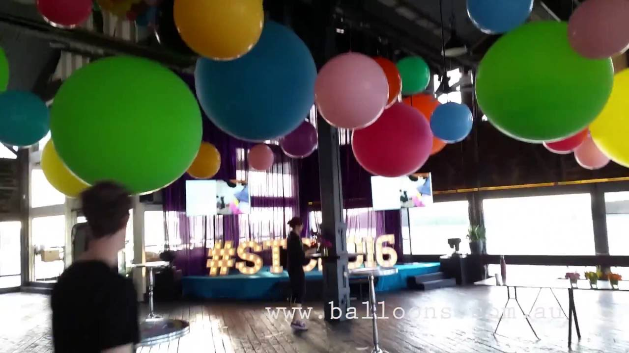 Giant Cloudbuster balloons - YouTube