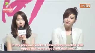 120322 LR Press Conference - YoonA Cuts (eng)