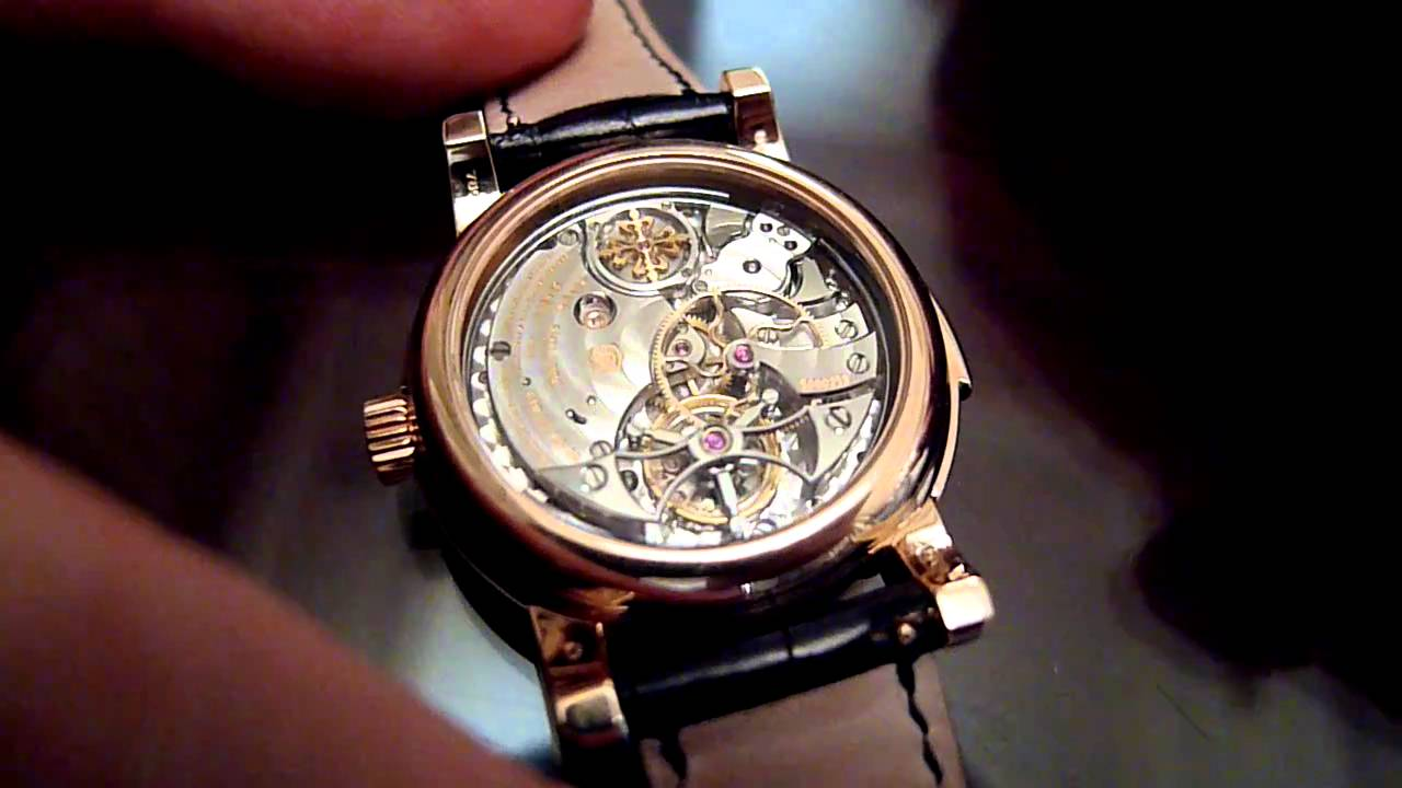 patek philippe ref 5016r minute repeater perpetual and tourbillon youtube On patek philippe watch