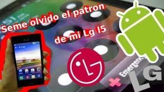 Olvide el módulo de mi móvil | LG® l5 | Solucion.