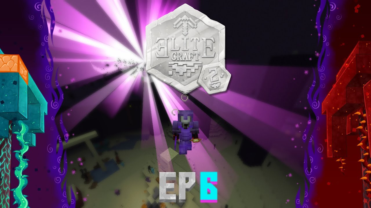 EliteCraft Ep6, 20 ENDER DRAGONS vs ELITECRAFT 2