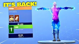 MAGNUS SKIN & T-POSE EMOTE IS BACK! Fortnite ITEM SHOP [January 2, 2019] | Fortnite Battle Royale