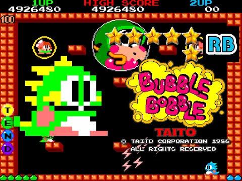 1986 [60fps] Bubble Bobble True Ending ALL