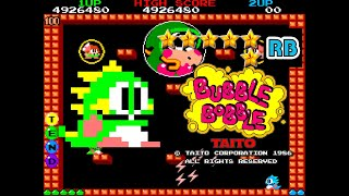 1986 [60fps] Bubble Bobble True Ending ALL