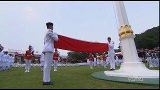 Download Video Upacara Penurunan Bendera Merah Putih, HUT ke-73 Republik Indonesia MP3 3GP MP4
