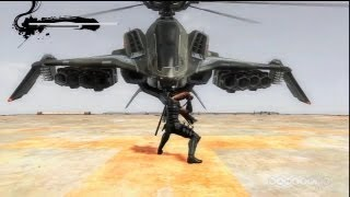 Chopper Boss Fight - Ninja Gaiden 3 Gameplay (PS3)