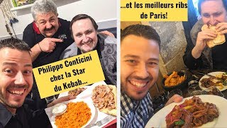 KEBAB + RESTO de FOU avec Philippe Conticini - VLOG #929