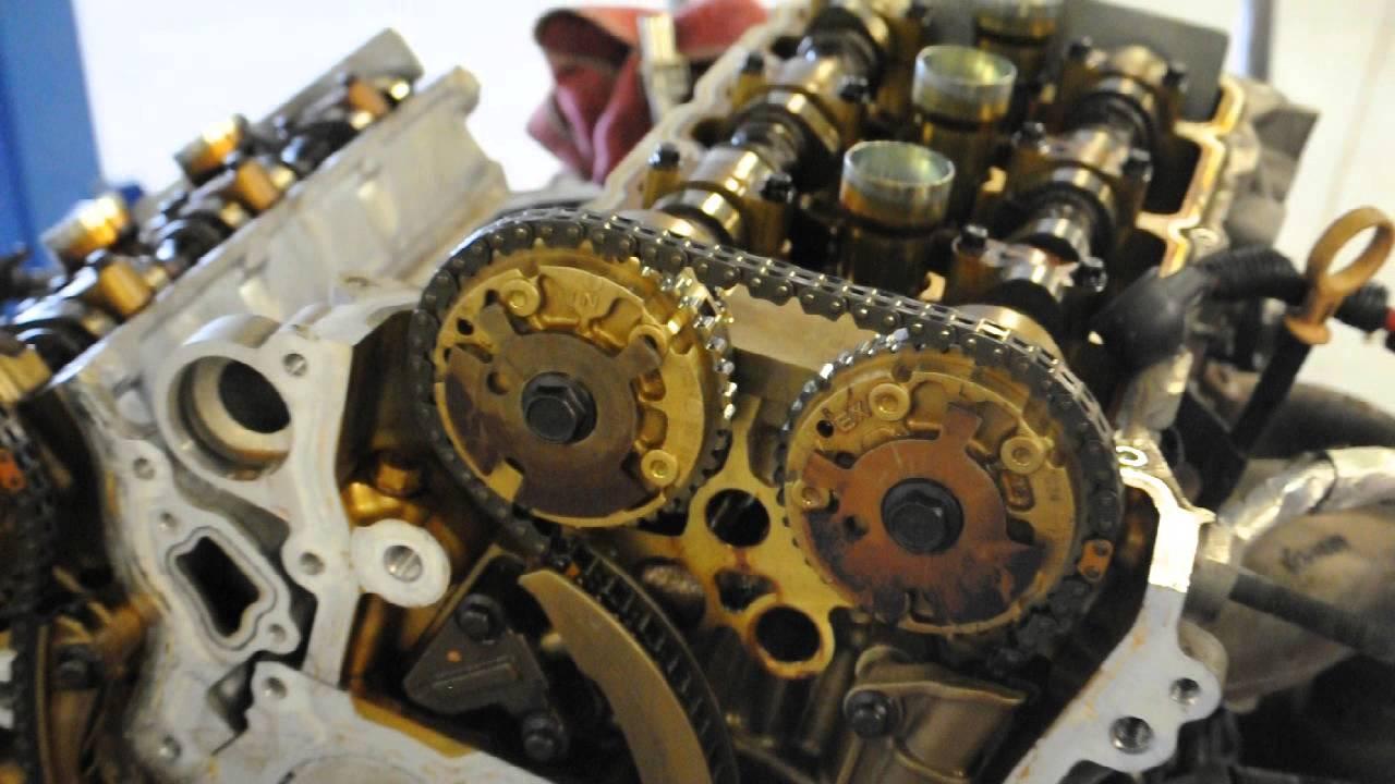 GM 36l V6 VVT Timing Chain Problems HD  YouTube