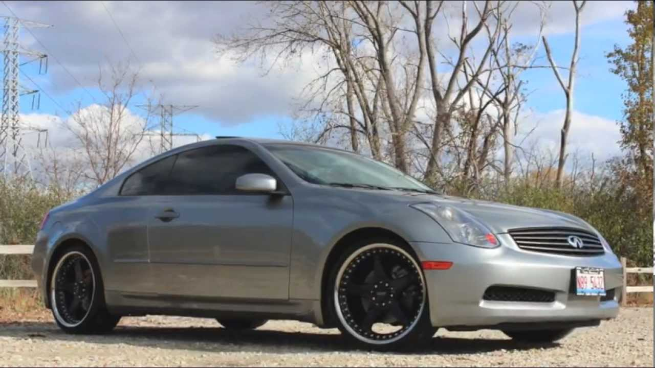 2005 infiniti g35 coupe walkaround full tour exhaust clip 6mt 2005 infiniti g35 coupe walkaround full tour exhaust clip 6mt fully loaded youtube vanachro Choice Image
