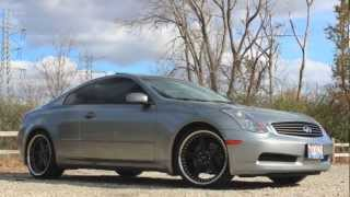 2005 Infiniti G35 Coupe Walkaround, Full Tour, Exhaust Clip 6MT Fully Loaded
