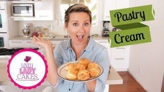 Make Easy Pastry Cream + Cake Talk