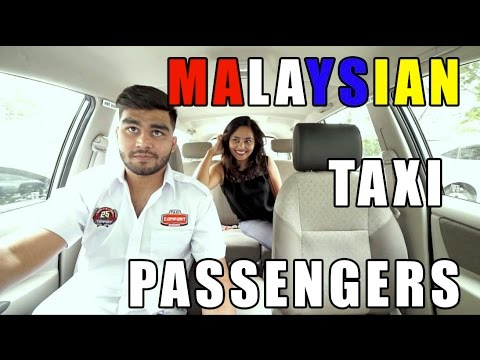Types Of Malaysian Taxi Passengers