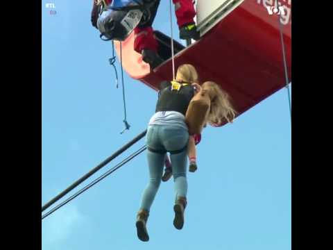 Cable car rescue in Germany