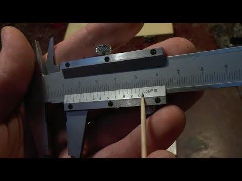 Как пользоваться штангенциркулем?