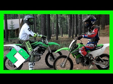 DIRT BIKE RIDING AT FOREST LAKES (Day 1575)