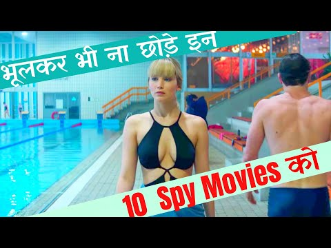 Top 10 Best Spy Movies Of Hollywood | In Hindi