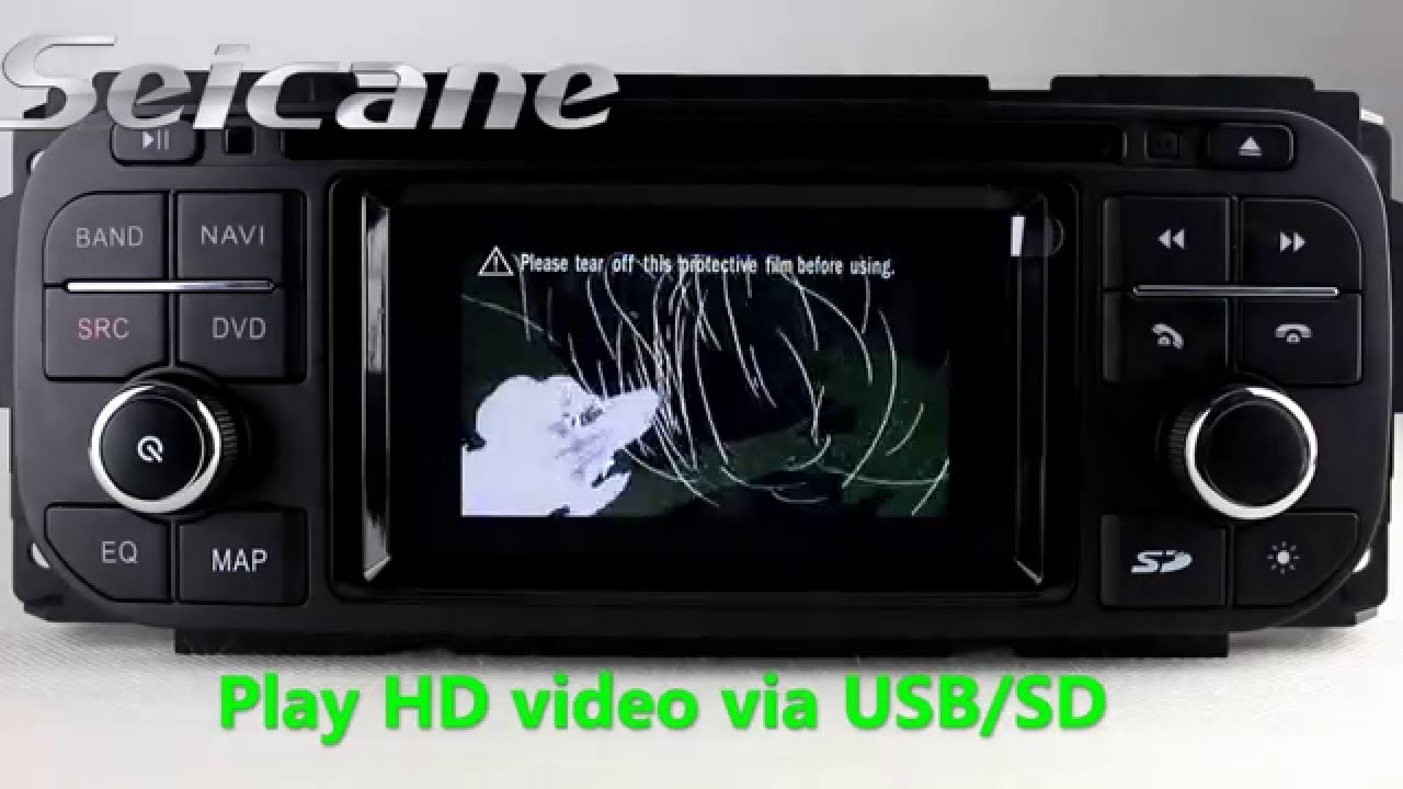 best car stereo 1999 2000 2001 jeep grand cherokee aftermarket gps in dash dvd player [ 1280 x 720 Pixel ]