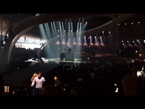 Dihaj - Skeletons (Azerbaijan) Eurovision 2017 Grand Final LIVE