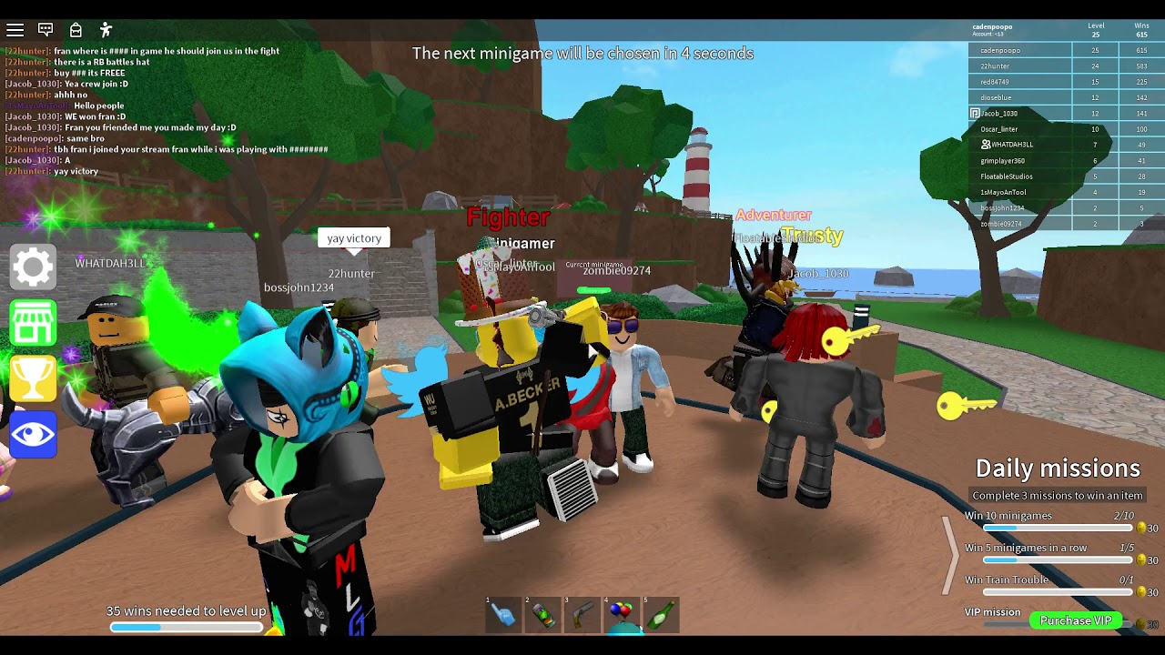 IN AND PLAYING WITH FRANDAMAN1 (roblox)