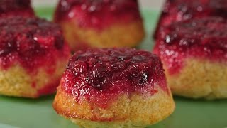 Cranberry Upside Down Muffins Recipe Demonstration - Joyofbaking.com