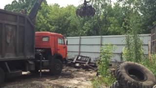 Сдать металлолом Одесса(Видео ролик погрузки металлолома нашим манипулятором в Одессе. Прием , вывоз, демонтажные работы - Одесса...., 2016-07-08T14:29:19.000Z)