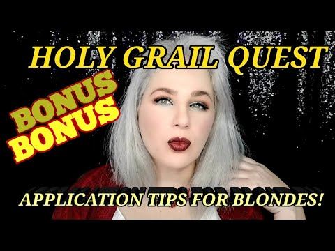 QUEST For My HOLY GRAIL FOUNDATION! BONUS-EXTRA TIPS FOR BLONDES & NOSE CONTOUR! (See Below!)