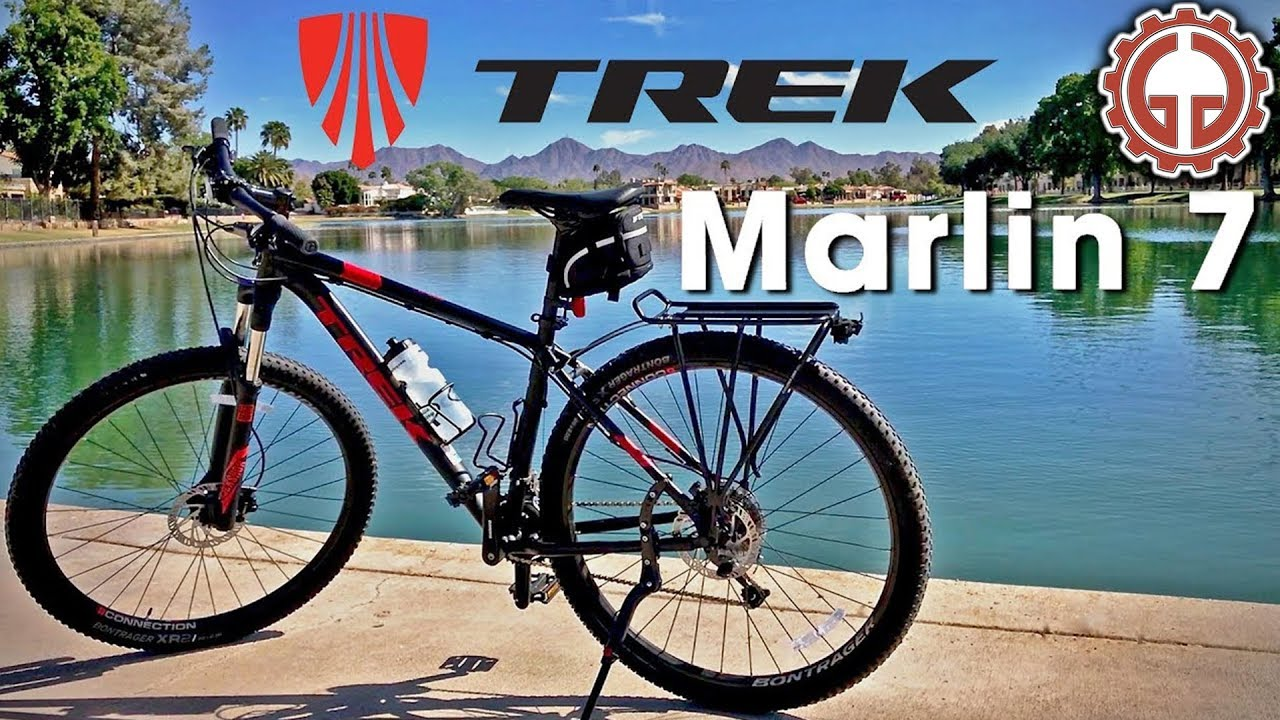 735780bbcd1 2018 Trek Marlin 7 Review - YouTube