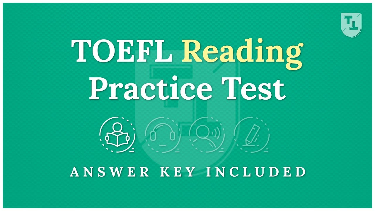 - TOEFL Practice Test - The Reading Section - YouTube