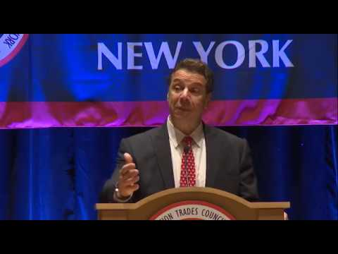 Governor Cuomo Delivers Remarks at 2017 Building & Construction Trades Council Winter Conference