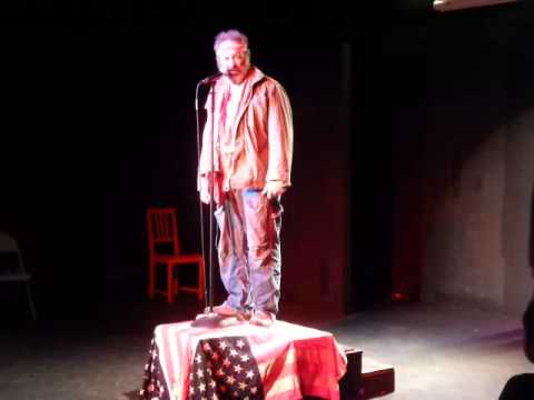 25th annual Abbie Hoffman Fest (2013) - Richard Cotovsky as Abbie Hoffman