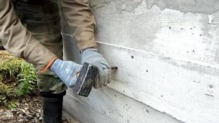 Смотреть видео как проверить прочность бетона