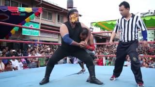Second Nepali  Wrestling Showed at Kalimati | Medianp.com