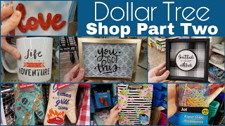 Dollar Tree Shop With Me New Items! • Part Two