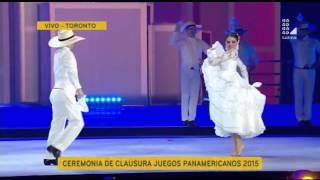 Panamericanos: Marinera se lució en la ceremonia de clausura