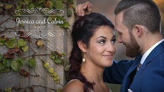 Jessica and Calvin - Wedding Highlights - Meadowbrook Hall   Rochester, MI - NIKE Shoes!