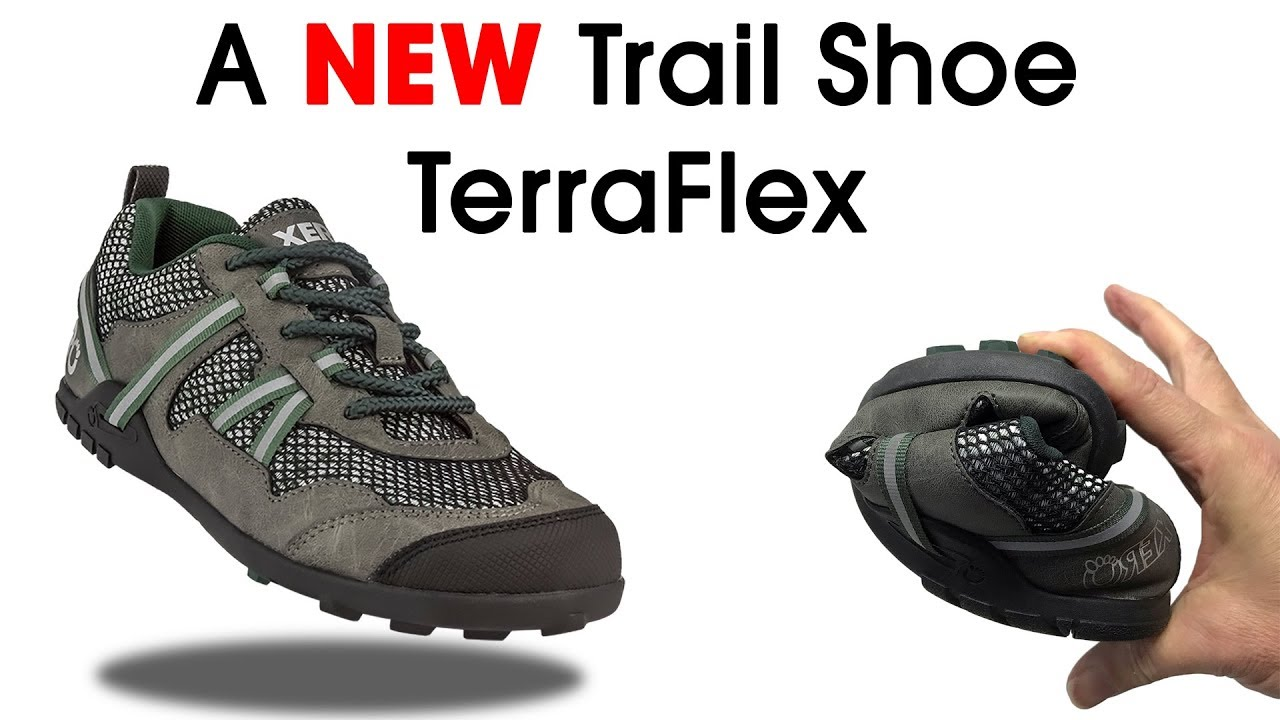 fd8e969a38e6 TerraFlex Lightweight Minimalist Trail Shoe - from Xero Shoes - YouTube