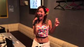LIVE前ですかpart2 MINMIさん「ハイビスカス」 No.1歌姫決定戦ショート...