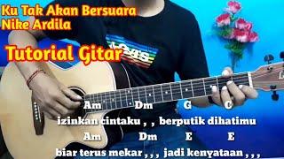 Ku Tak Akan Bersuara Nike Ardila Lirik Dan Chord - Tutorial Gitar By Darmawan Gitar