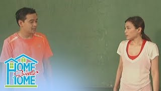 Home Sweetie Home: Romeo and Julie play badminton