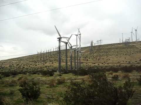 Palm Springs, California Wind Farm