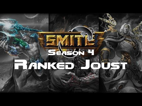 Smite - Ranked 3v3 Joust (Masters) - Ra - FT. Dave and Anthony Season 4