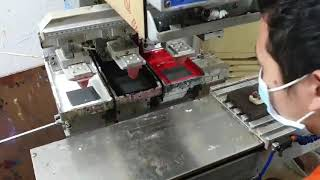 KT코리토리 피규어 실리콘 패드인쇄 작업 검수