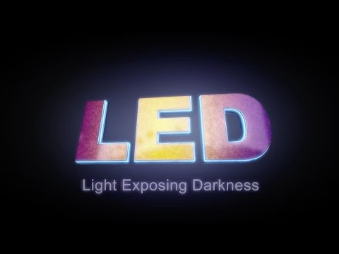 LED (Light Exposing Darkness) trailer