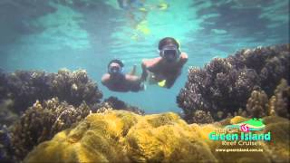 Big Cat Green Island Snorkeling - 30 sec with website Thumbnail