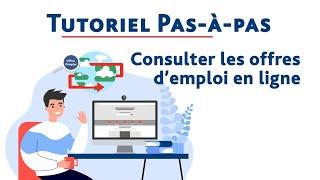 Comment consulter les offres d'emploi sur pole-emploi.fr ? - Pas-à-pas