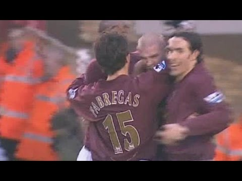 Arsenal v Middlesbrough 2005-06 7-0 HENRY PIRES GOAL