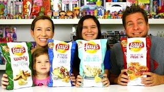 Taste Test - Lays Chips Reuben, Gyro, Biscuits & Gravy, Truffle Fries