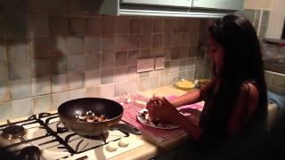 Mahi's Little Kitchen ( Juicy Mushroom With Garlic)